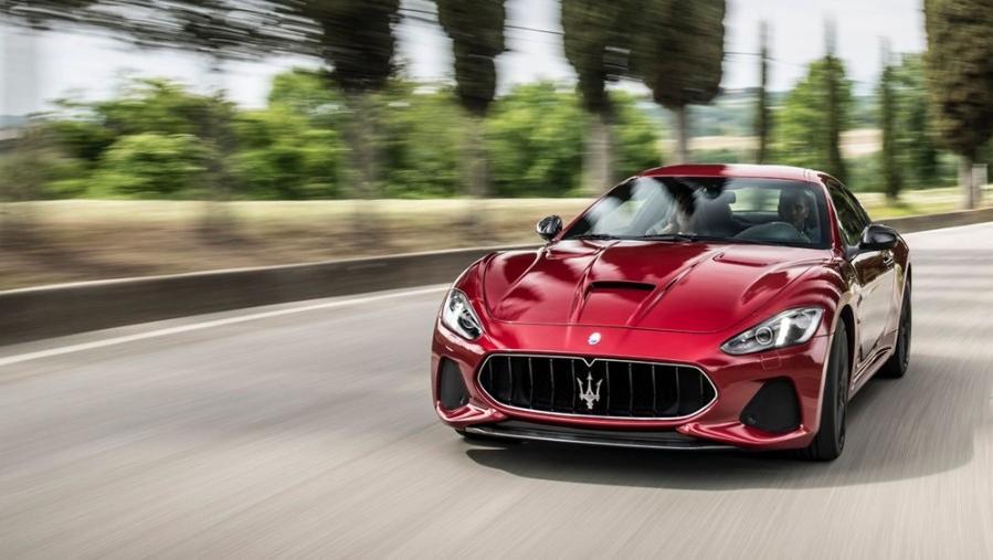 Maserati Grancabrio 2019 Exterior 013
