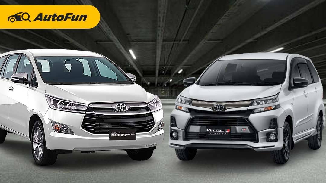 Budget Rp250 Juta, Pilih Toyota Veloz GR Limited Baru atau Toyota Kijang Innova Reborn Bekas? 01
