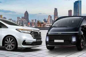 Harga Sama, Mana Lebih Mewah Antara Honda Odyssey atau Hyundai Staria?
