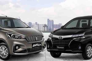 Harga Bersaing, Pilih Suzuki Ertiga GL MT atau Toyota Avanza G AT?