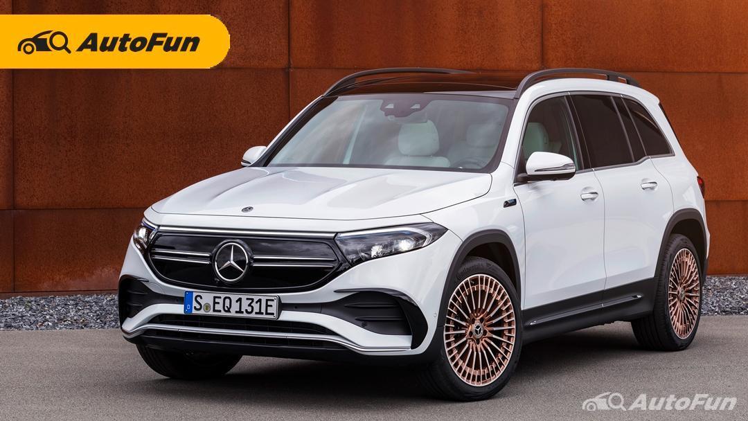 Debut SUV Listrik 7-Seater Mercedes-Benz EQB Yang Akan Dibuat di China 01