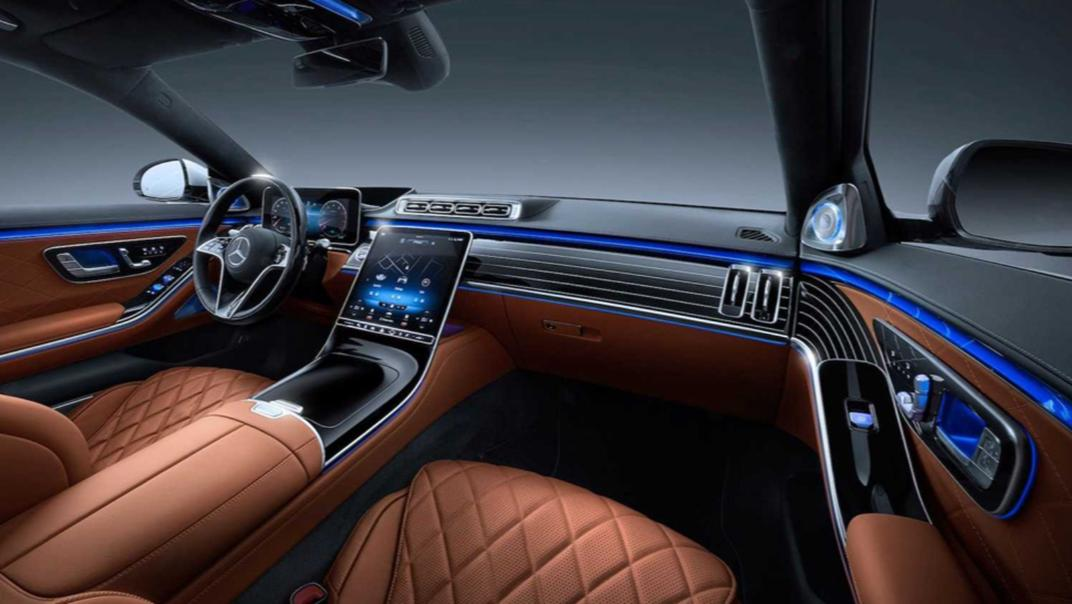 2021 Mercedes-Benz S-Class S 450 4MATIC Luxury Interior 001