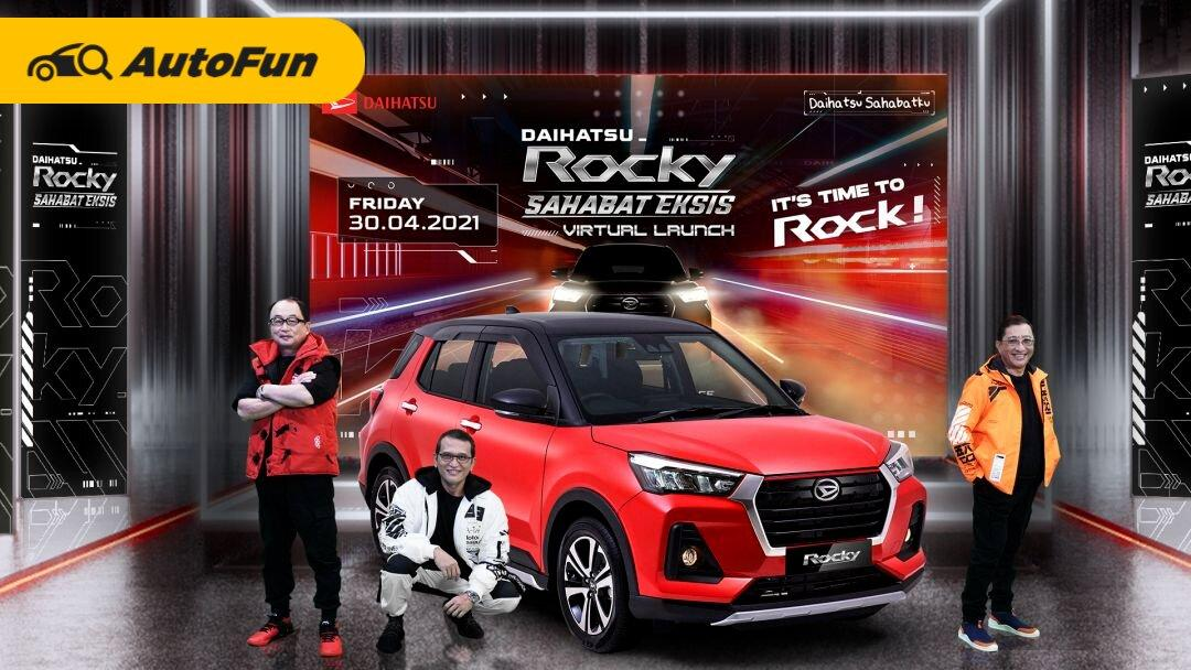 Resmi Meluncur, Harga Daihatsu Rocky 1.0 Turbo Mulai Dari Rp214 Jutaan 01