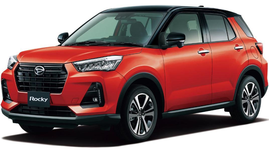 2021 Daihatsu Rocky Upcoming Version Exterior 001