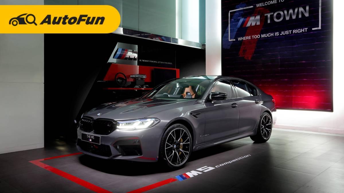 BMW M5 Competition 2021, Sedan Bermesin V8 Seharga Rp4,7 Miliar 01