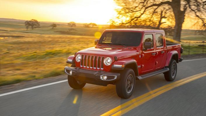 2021 Jeep Gladiator Exterior 002
