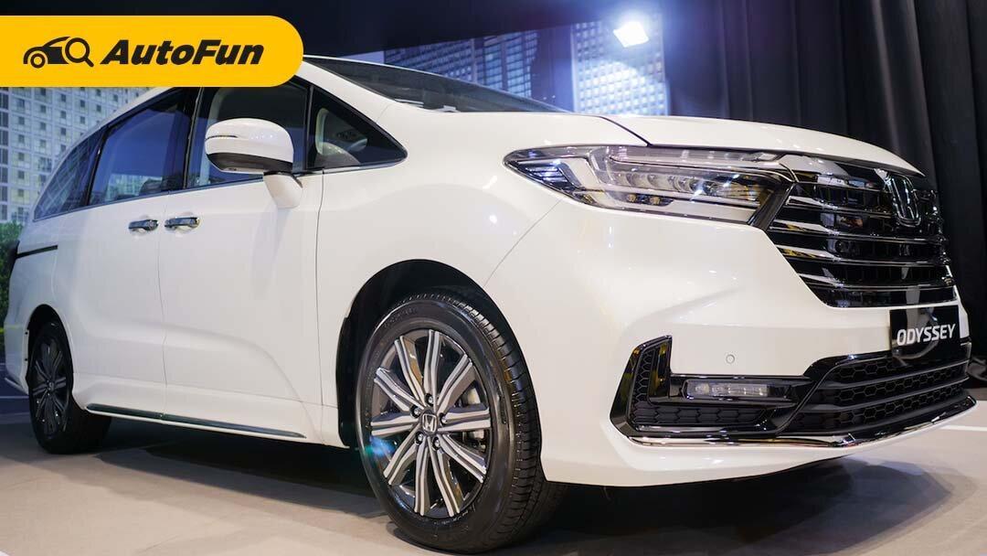 New Honda Odyssey 2021 Hadir dengan Honda SENSING, Rival Toyota Alphard Ini Makin Mewah dan Tampan 01