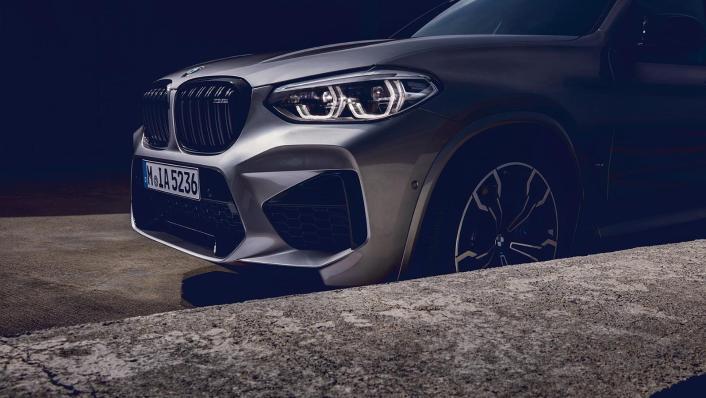 BMW X3 M Exterior 010