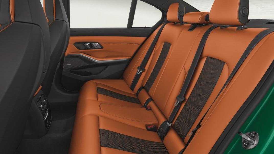 2021 BMW M3 Competition Interior 008