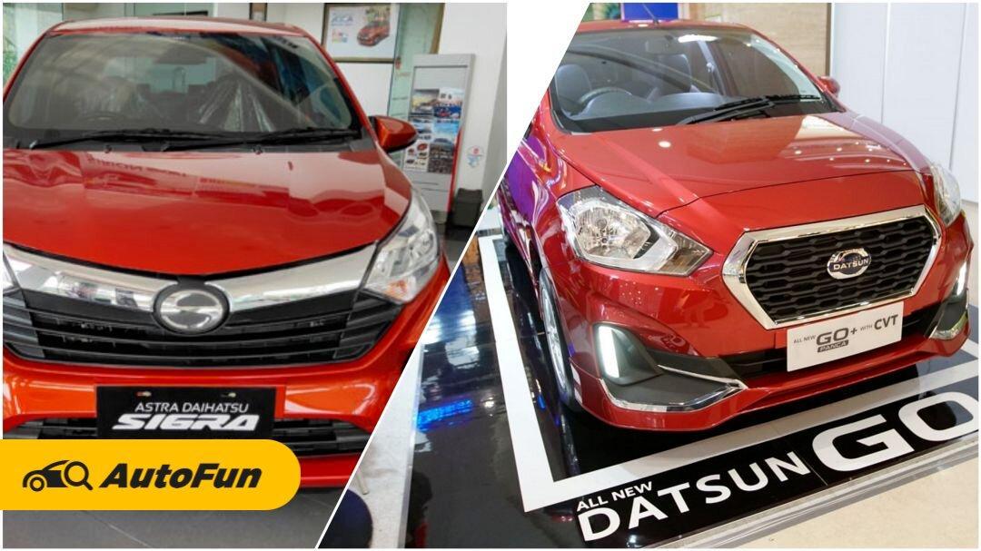 Kelemahannya Lebih Banyak, Alasan Datsun Go Plus Tergusur Daihatsu Sigra 01