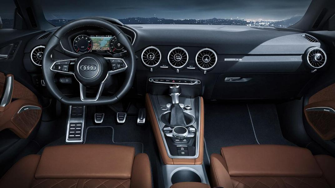Audi TT Coupe 2019 Interior 001