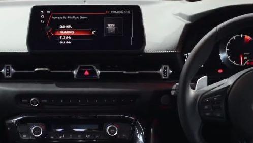 Toyota Supra 2019 Interior 004