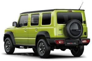 Pakai Mesin Swift Sport, Suzuki Jimny 5 Pintu 2022 Bakal Punya Torsi Lebih Kuat dari Honda Civic Turbo