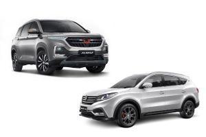 Komparasi Fitur SUV China, Wuling Almaz dan DFSK Glory i-Auto, Mana yang Terbaik?