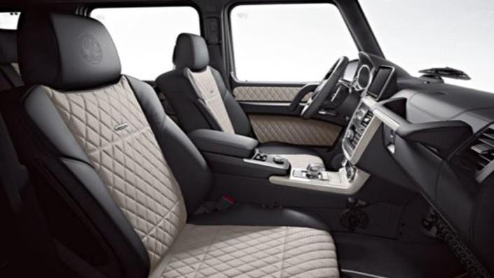 Mercedes-Benz G-Class 2019 Interior 004