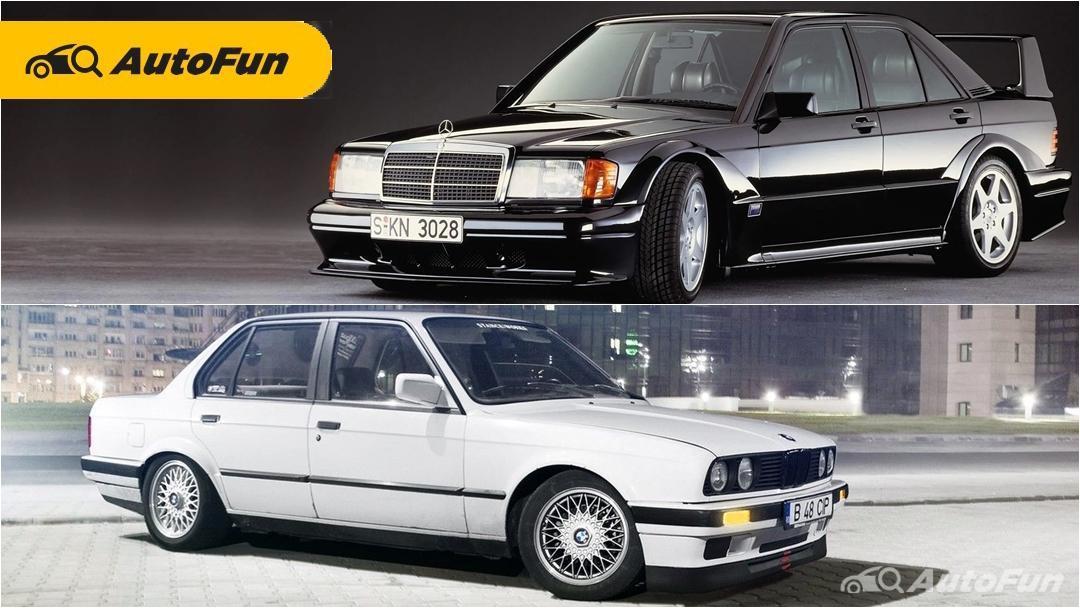 Jadi Incaran Kolektor, Pilih BMW E30 Mas Boy atau Mercedes-Benz W201 Baby Benz? 01