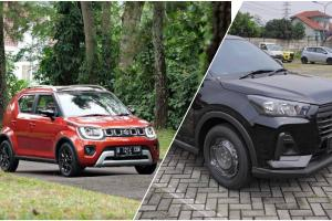 Perbandingan Daihatsu Rocky 1.2 M vs Suzuki Ignis GL, Si Pendatang Baru Kalah Tampang Menang Fitur