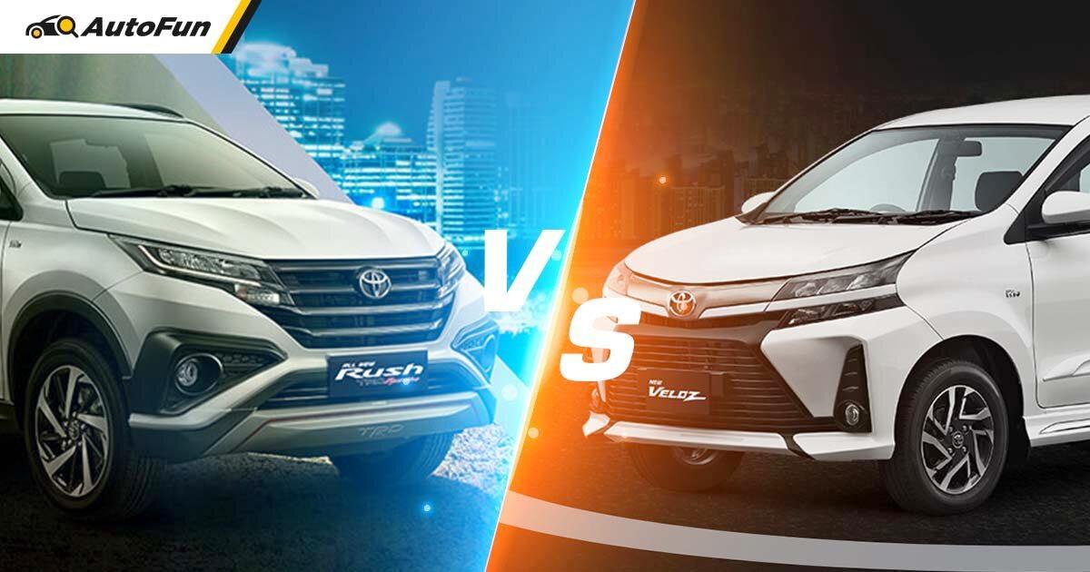 Pakai Mesin Serupa,  Ini Rahasia Tarikan Toyota Avanza Veloz Lebih Nendang Dibanding Toyota Rush! 01