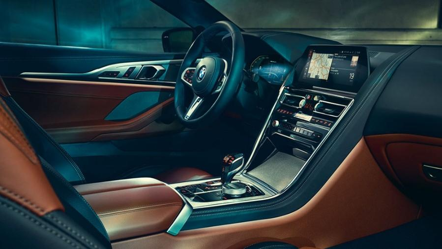BMW 8 Series Coupe 2019 Interior 005