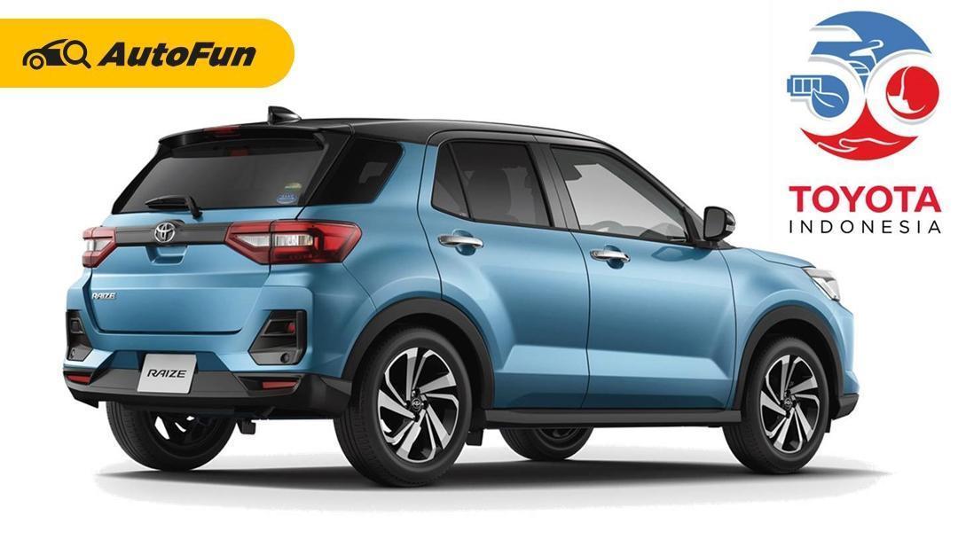 Bukan Toyota Raize 2021 yang Akan Meluncur di Perayaan 50 Tahun Toyota Indonesia Besok, Ini Bocorannya! 01