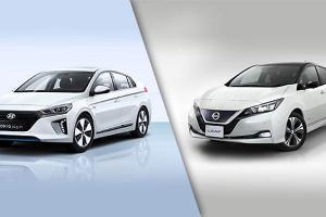Hyundai Ioniq vs Nissan Leaf 2021 : Mobil Listrik Beda Negara, Mana Paling Cocok di Indonesia?