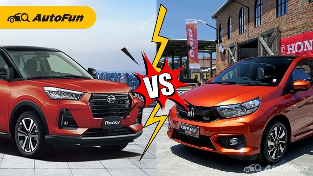Komparasi Daihatsu Rocky 1.0 Turbo vs Honda Brio RS, Jadi Senjakala Hatchback di Indonesia? 01