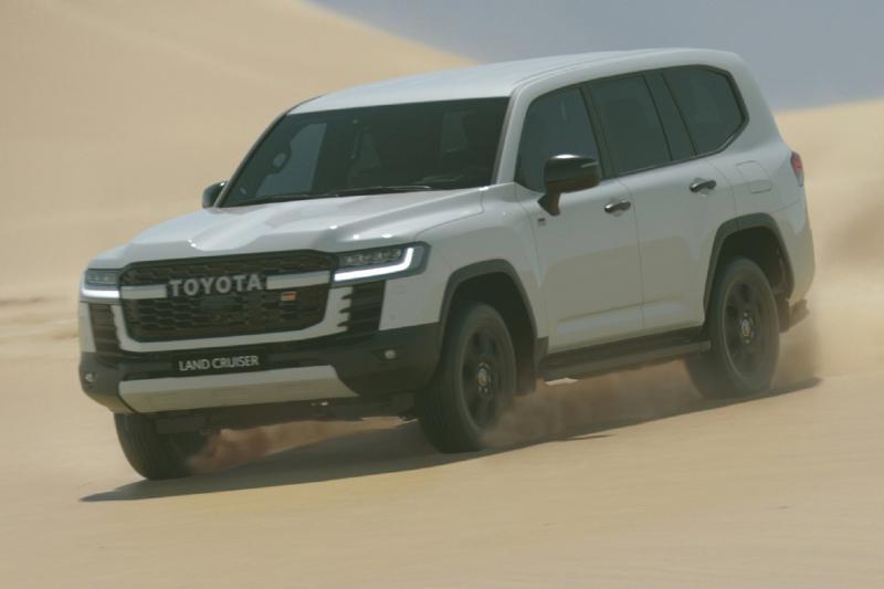 Toyota Land Cruiser GR Sport 2022