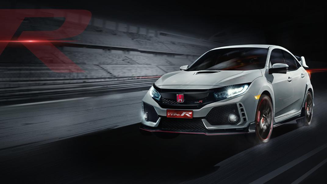 Honda Civic Type R 6-Speed MT Exterior 001