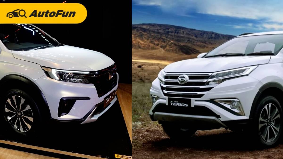 Perbandingan Honda BR-V Tipe E 2022  vs Daihatsu Terios R IDS 2021: Crossover vs Real SUV 01