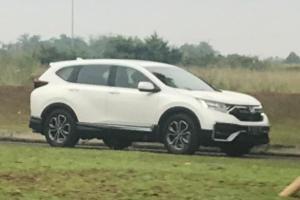 Honda CR-V Facelift 2021 TerjepretKamera di Indonesia, Bakal Pakai Honda Sensing?