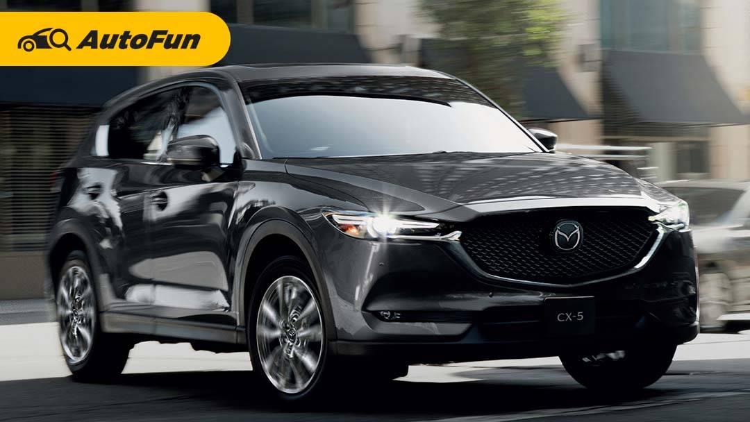 New Mazda CX-5 Dibandrol Mulai dari Rp553 Jutaan, Nambah Dua Fitur Doang? 01