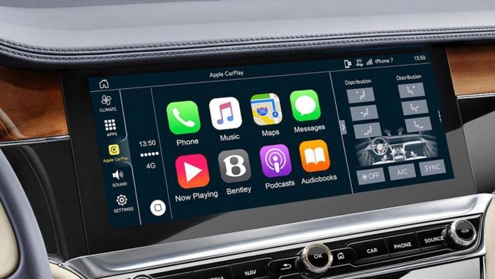 Bentley Continental 2019 Interior 005
