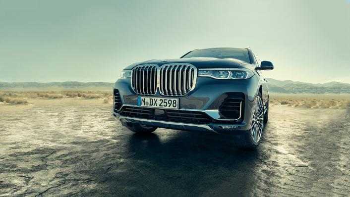 2021 BMW X7 xDrive40i Opulence Exterior 010