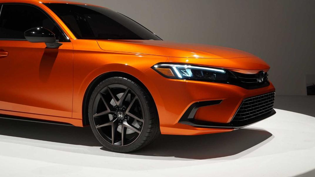 2021 Honda Civic International Version Exterior 011