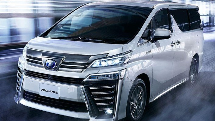 Toyota Vellfire 2019 Exterior 001
