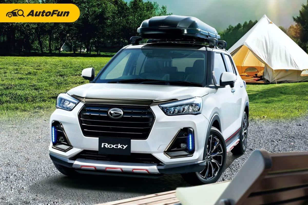 Inspirasi Modifikasi Toyota Raize dan Daihatsu Rocky Pakai Aksesoris JDM, Makin Nggak Kelihatan Mobil Murah Nih! 01