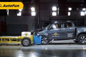 Isuzu D-Max, Double Cabin Pertama Peraih 5 Bintang Euro NCAP