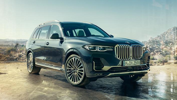 2021 BMW X7 xDrive40i Opulence Exterior 006