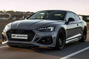 Standar Emisi Gas Buang Ketinggian, Peluncuran Audi RS5 di Indonesia Tertunda