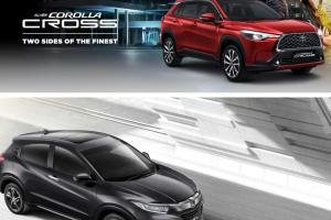 Simak Perbandingan Biaya Perawatan Toyota Corolla Cross Vs Honda HR-V