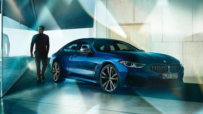 BMW 8 Series Coupe 840i Gran Coupe Exterior 004