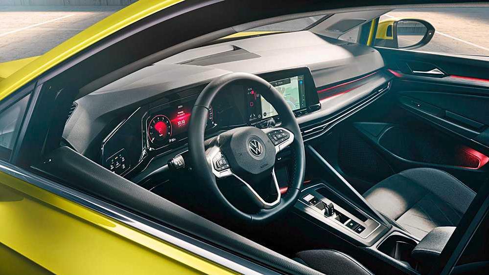 Volkswagen Golf 2019 Interior 065