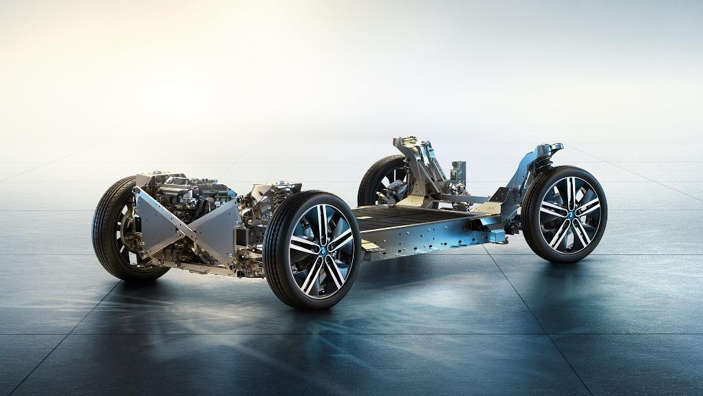 BMW I3s 2019 Interior 011