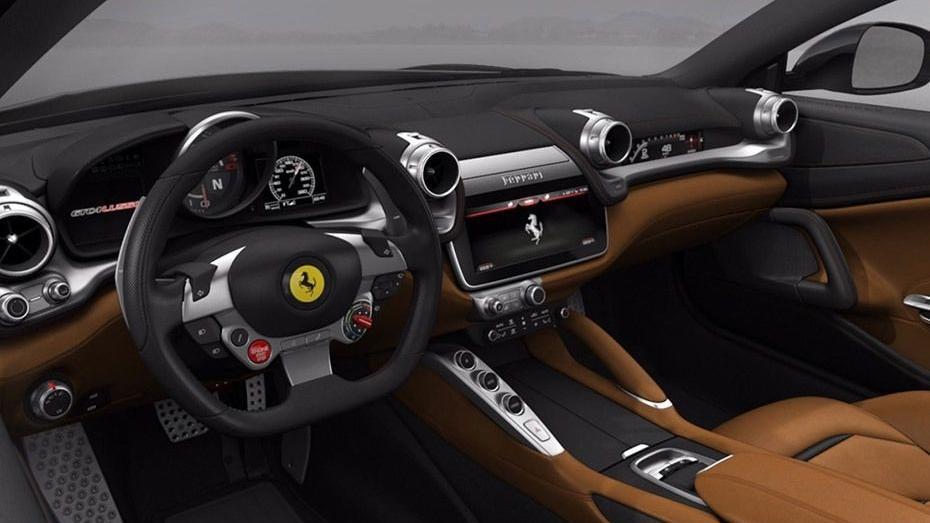 Ferrari GTC4Lusso 2019 Interior 001