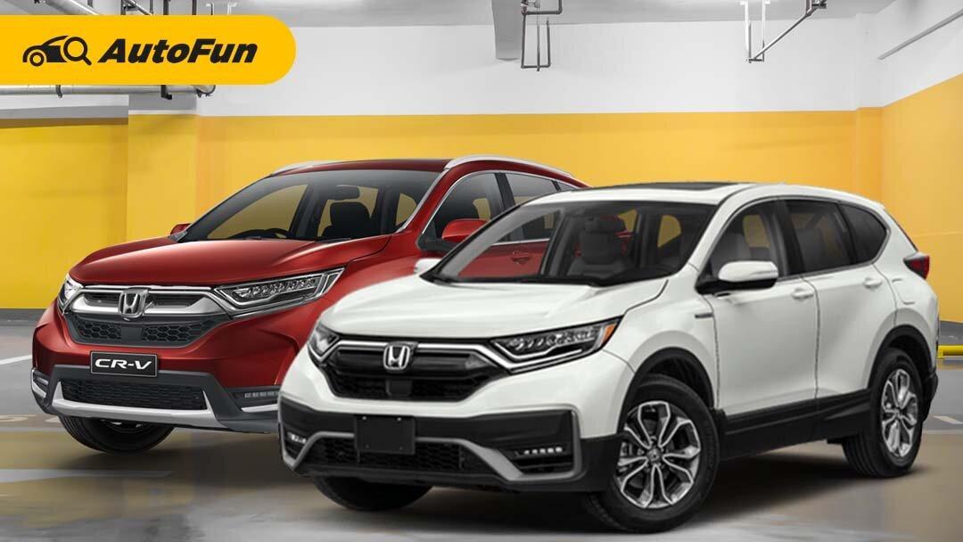 Naik Hingga Rp30 Jutaan, Apa Bedanya Honda CR-V 2021 Vs Honda CR-V Lama? 01
