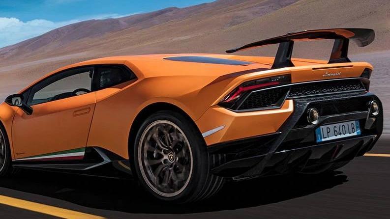 Lamborghini Huracan 2019 Exterior 047