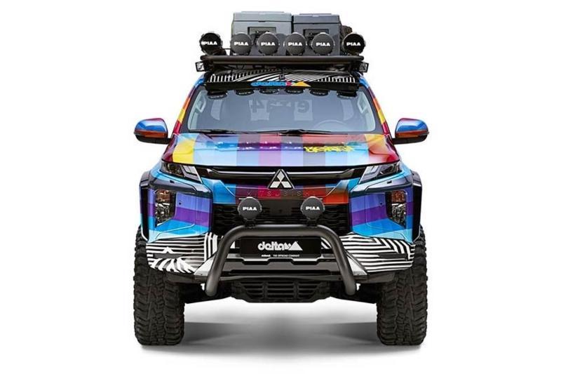 Mitsubishi Triton Pop Art Beast