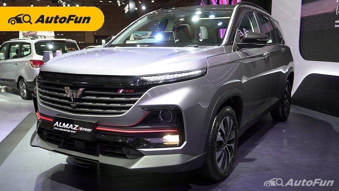 Dibekali WISE, Wuling Almaz RS Tawarkan Fitur Paling Menggoda di IIMS Hybrid 2021 01
