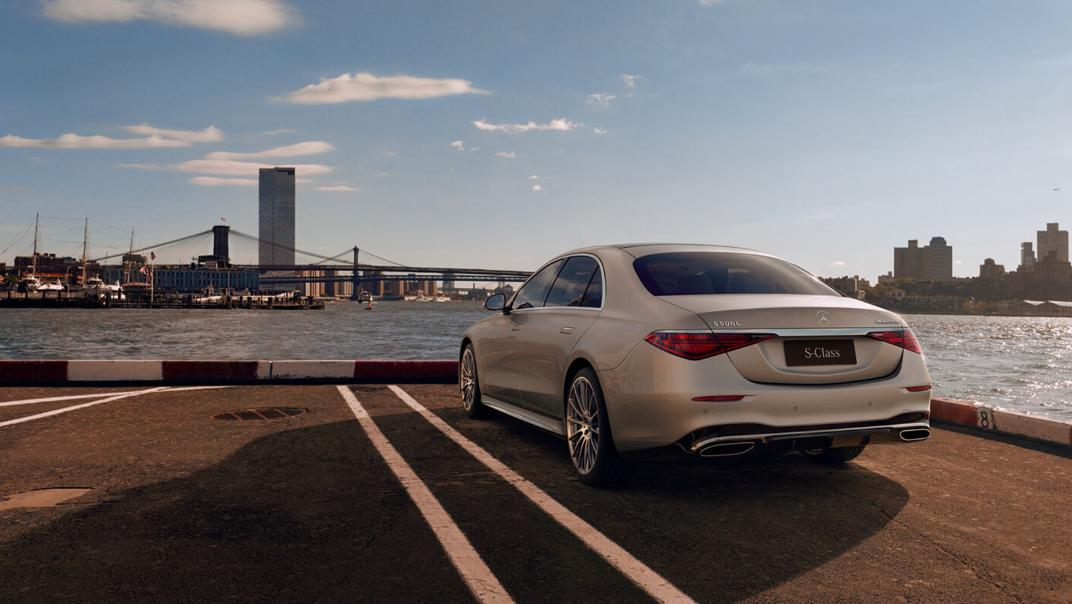 2021 Mercedes-Benz S-Class S 450 4MATIC Luxury Exterior 006