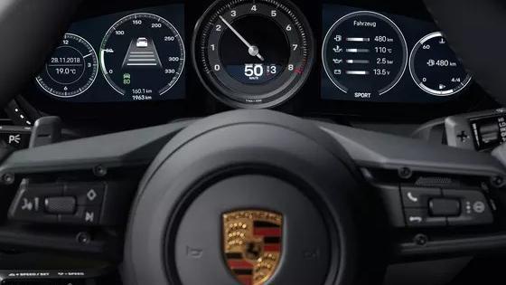 Porsche 911 2019 Interior 036